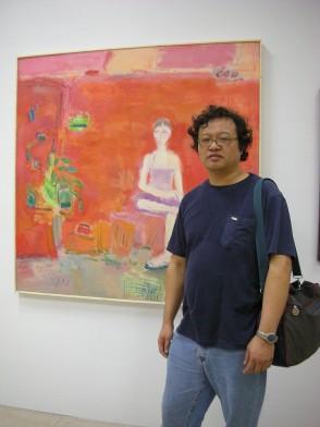 香港油畫研究會秘書:謝政